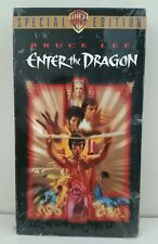 """BRUCE LEE """"ENTER the DRAGON"""" 2001 VHS Tape - WB 25th Anniversary Special Edition"""