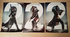 PS4 XBOX ONE DESTINY 2 SET OF THREE PROMOTIONAL POSTERS