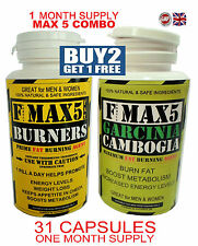 GARCINIA CAMBOGIA WEIGHT LOSS FAT BURNERS SLIMMING DIET PILLS TABLETS (HCA FREE)