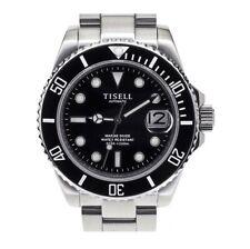 TISELL SUB Super-Lume BGW9 Automatic 200M Black Face Ceramic Bezel Sapphire-NEW