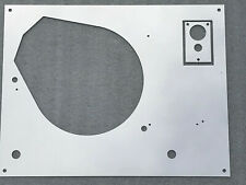 Thorens TD 160 165 166 original-design top face plate Silver Mirror with LIFT