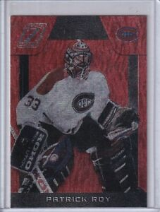 2010-11 Zenith Red Hot #137 Patrick Roy - Montreal Canadiens