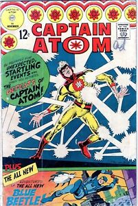 Captain Atom #83 1st Blue Beetle Ditko art -1966-KEY!!! NO RESERVE!!