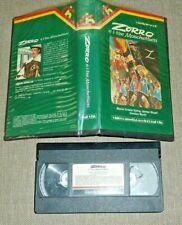 "CINEHOLLYWOOD VHS - ""ZORRO E I TRE MOSCHETTIERI"""