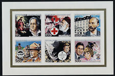 Central Africa 648a imperf m/s MNH Famous People Prince Charles, Princess Diana