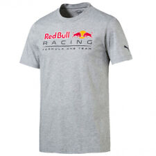 PUMA Red Bull Racing Logo Tee Light Grey Heather L