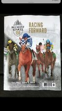 2018--150th Belmont Stakes Program (Justify)