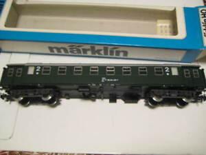 Marklin H0 4241 ÖBB 2nd Class Passenger Car w/decals NIB Made in Western Germany