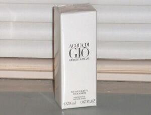 ACQUA DI GIO Giorgio Armani Men's eau de Toilette, TRAVEL SPRAY, .67 oz, 20 ml