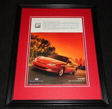 1998 Hyundai Tiburon FX Framed 11x14 ORIGINAL Advertisement