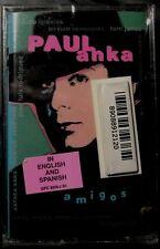 Paul Anka:  Amigos (Cassette, 1998, Sony)  NEW