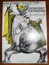 1973 INDECENT EXPOSURE Signed Limited Edition Collection Drawings Gerald SCARFE