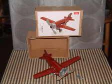 "Replica Paya NOS 1930 ""avion Junkers Azul"" Clockwork Tin Plane."