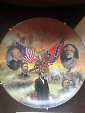 """Bradford Exchange """"Gettysburg"""" Battles of the American Civil War 8 3/8"""" Plate"""
