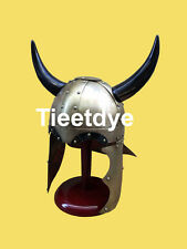 * SALE * Viking Conan the Barbarian Armor Helmet with Horns & Stand