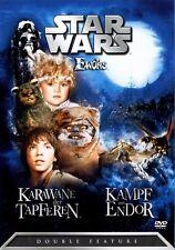 Star Wars - Die Ewoks - Double Feature DVD - OOP - RAR - Original in Folie !!!