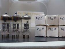 1x ecc81 = 6201 siemens military Grade munich nos/NIB/New tubo Tube valvola