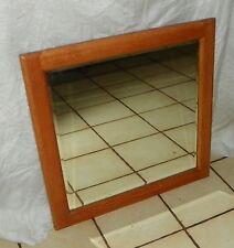 Solid Oak Beveled Wall Mirror  (MR13)