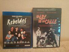 Pack Blu-ray+Dvd Francis Ford Coppola:Rebeldes(EXTENDIDA)+La ley de la calle