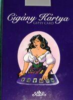 36 Húngaro Gypsy Tarot Futuro Telling Tarjetas Cubierta Encendido 6 Idiomas
