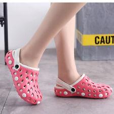 Women's Mens Clogs Garden Work Shoes Antislip Sandals Slip on Summer Slippers