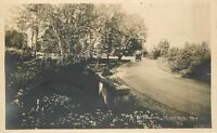 C-1915 Seattle Washington Mount Baker Park RPPC Real photo postcard 636
