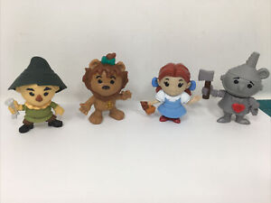 2013 McDonald 75th Anniversary WIZARD OF OZ Set of 4 Happy Meal Figures Toys