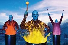 Blue Man Group Poster 24inx36in Poster