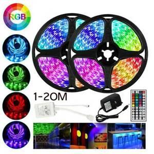 10M / 20M RGB LED BANDES LUMIÈRES COULEUR CHANGEANT FLEXBILE RUBAN ÉCLAIRAGE  DE