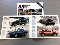 1983 AMC Concord DL Sedan /& Wagon Spirit DL /& GT Sales Brochure NOS