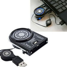 LED USB Cooler Air Extracting Cooling Pad Fan for Notebook Laptop