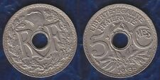C1 France 5 Centimes LINDAUER 1935 Nickel SUP