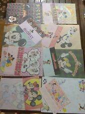 Letter set vintage Disney