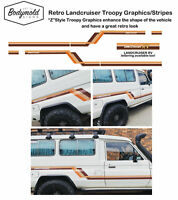 "TOYOTA LANDCRUISER TROOPY stripes/graphics ""Z'' STYLE"