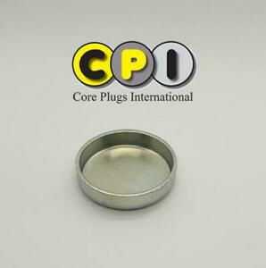 38mm Cup type core plug - CR4 Zinc Plating - British Steel BS1449