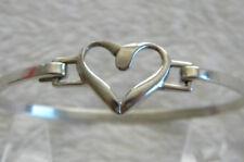 Precious Sterling 925 Heart Bracelet Approx 9.3 grams