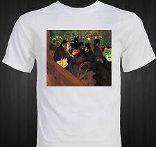 """""""Moulin Rouge"""" Famous Impressionist Art by Henri de Toulouse-Lautrec T-shirt"""