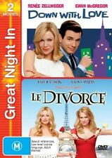 Down With Love  / Le Divorce (DVD, 2006, 2-Disc Set) No scratches Aussie
