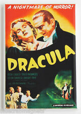 "Dracula ""Nightmare of Horror"" FRIDGE MAGNET (2 x 3 inches) movie poster lugosi"