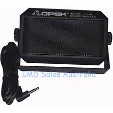 Opek Extension Speaker to Suit Uhf Vhf Radios New Black Deluxe Communication