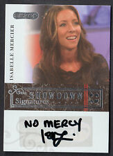 RAZOR POKER (2006) SHOWDOWN SIGNATURES AUTOGRAPH CARD #A23 ISABELLE MERCIER