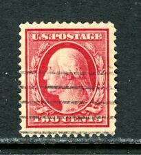 US 375, 1910 2c WASHINGTON, USED, NICELY CENTERED, (US594)