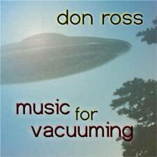Don Ross: Music For Vacuuming w/ Artwork MUSIC AUDIO CD Candyrat 2005 Album 10tk