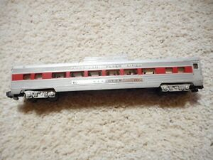 S SCALE AMERICAN FLYER #962 RED STRIPED VISTA DOME CAR. AUCTION #2