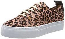 """*Hudson Ladies """"Daphne"""" Leopard Platform Sneakers/Trainers, Size 7 UK/40 EU*"""