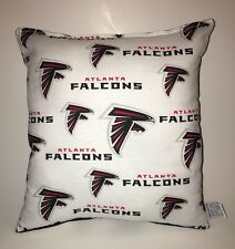 Falcons Pillow Atlanta Falcons NFL Pillow Handmade Made In USA Football Pillow