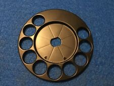 Automatic  Electric telephone dial  fingerwheel brass painted black