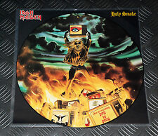 Iron Maiden 'Holy Smoke' LTD Ed UK '90 Original Pic EP Picture Disc w B.Card OOP