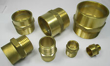 SOLDER RING to THREAD MALE STRAIGHT COUPLER 15 22 28 35 42 54 mm PIPE ADAPTOR