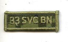 Obsolete Modern Canadian Army CADPAT 33 SVC BN Title